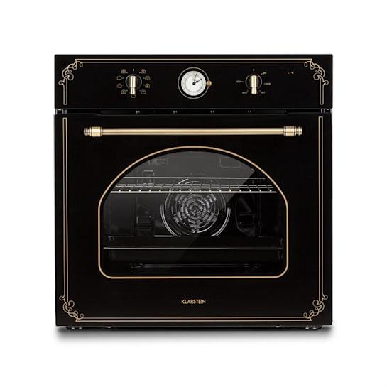 Victoria Forno da Incasso Design Retrò 9 Funzioni  50-250°C Nero