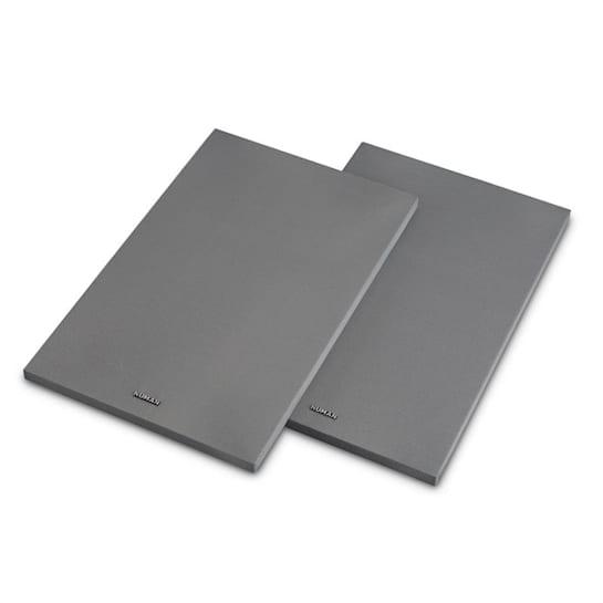 Reference 802 Cover Regallautsprecher-Abdeckung Paar silber