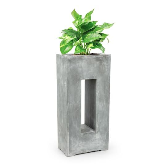 Airflor Plant Pot 45 x 100 x 27 cm light gray