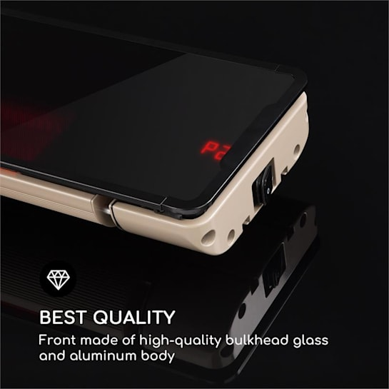 Blumfeldt Phantom Straalkachel Aluminium 900/1800W