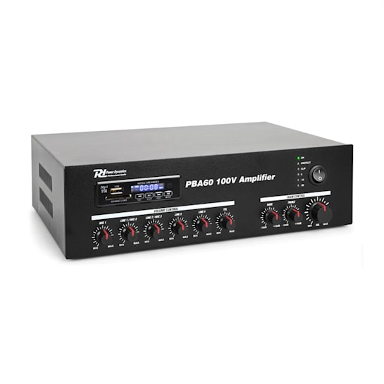 PBA60 100V Verstärker 60 W USB/SD MP3 Bluetooth