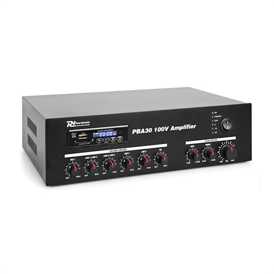 PBA30 100V Verstärker 30 W USB/SD MP3 Bluetooth