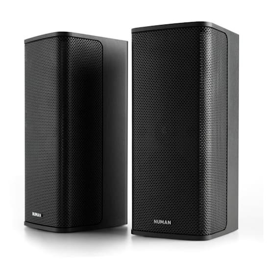 Ambience, 2.0 stereo systém, 2 x 60 W RMS, 12 m kabel, černý