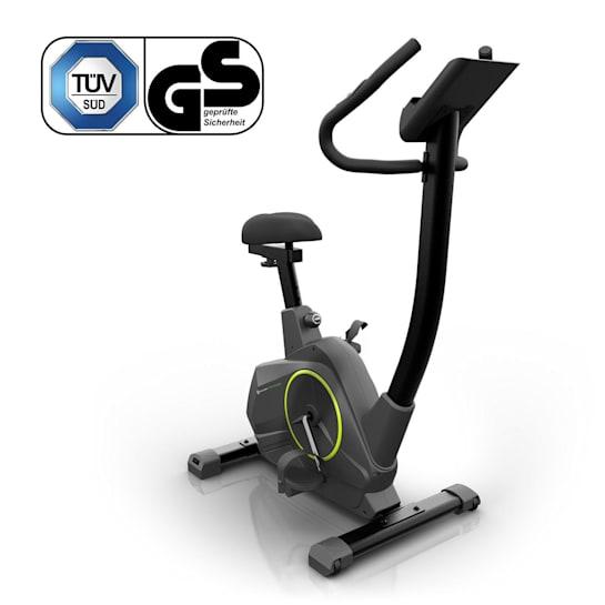 Evo Air Home Trainer, 12 kg Flywheel, Belt Drive, Black