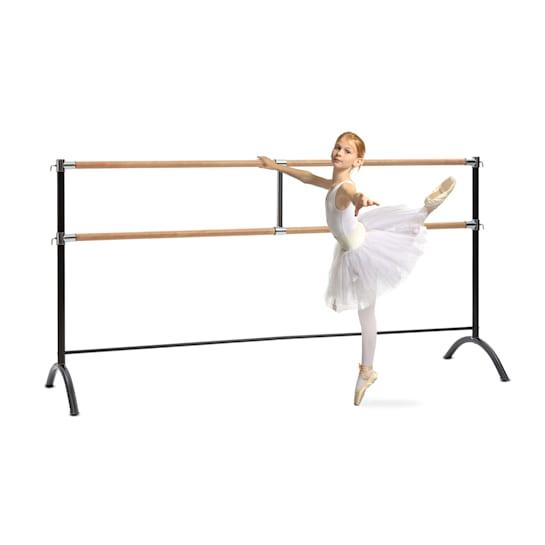 Barre Marie, dvojitá baletní tyč, volně stojící, 220x113, 2x38cm