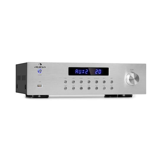 AV2-CD850BT 4-Zonen Stereo-Verstärker 8x50W RMS Bluetooth USB silber