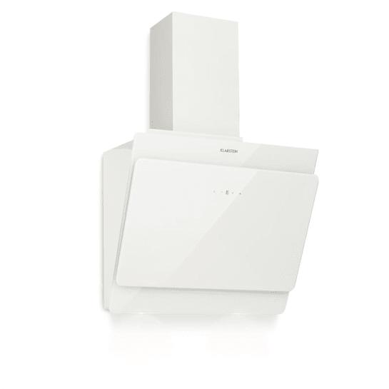 Aurica 60 Dunstabzugshaube 60cm Abluft: 610 m³/h LED Touch Glas weiß