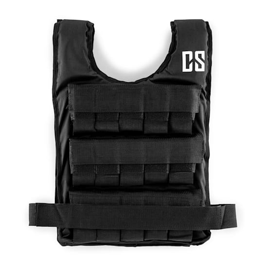 Monstervest Weight Vest 10 kg Uni-Size Nylon Black