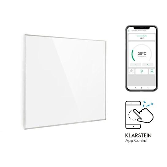 Wonderwall 360 Smart, infrapanel, infravörös hősugárzó, 60 x 60 cm, 720 W, heti kapcsolóóra, IP24, fehér
