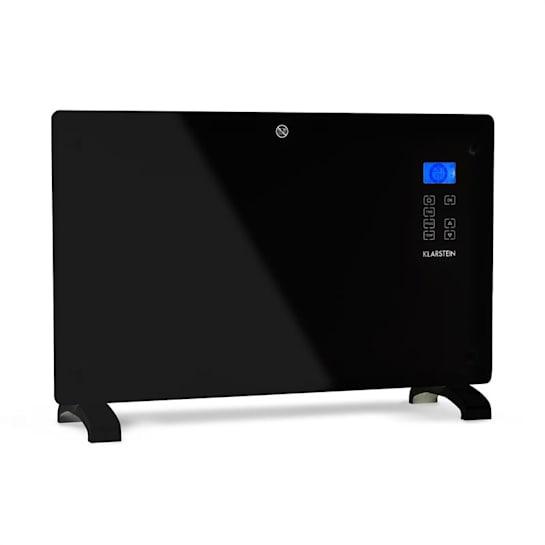 Norderney Konvektions-Heizgerät Thermostat Timer 2000W 30m² schwarz