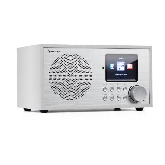 Silver Star Radio Internet Mini DAB+/FM, WiFi, BT, DAB+/FM, Bianco