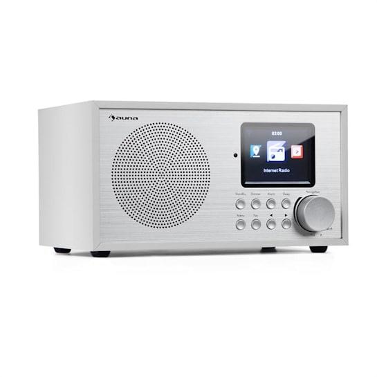 Silver Star Mini Internet DAB+/UKW Radio, WiFi, BT, DAB+/UKW, weiß