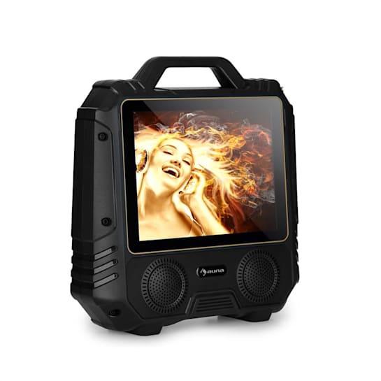 """CenterStage 4 mobiler Karaoke-Lautsprecher, 30 W, 14,1"""" Display, Funk-Mikro"""