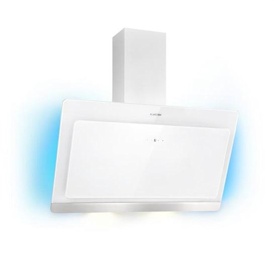 Aurora Eco 90 Dunstabzugshaube 550 m³/h LED-Display weiß