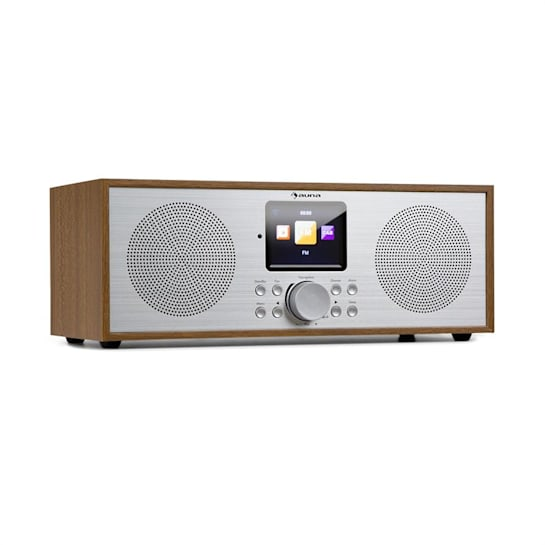 Silver Star Stereo Internet DAB+/FM Radio, WiFi, BT, DAB+/FM, Oak
