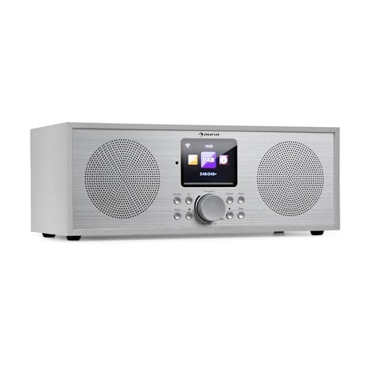 Silver Star Stereo Internet DAB+/UKW Radio, WiFi, BT, DAB+/UKW, weiß
