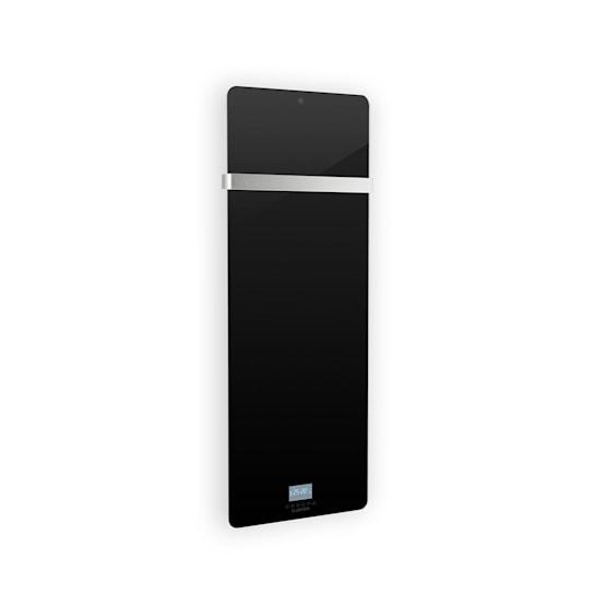Hot Spot Crystal IR, infravörös hősugárzó, 45 x 120 cm, 20 m², 850 W,  5 - 40 °C, IP24, fekete