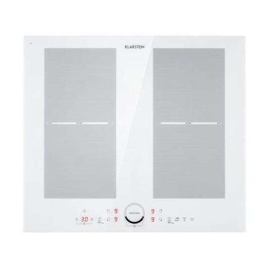 Delicatessa 60, indukční varná deska, 4 zóny, 7000 W, sklokeramika, časovač, bílá