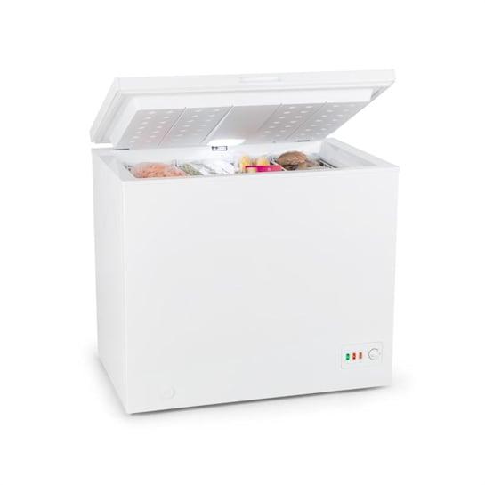 Iceblokk Eco, fagyasztóláda, A+++, 200 l, 4 felakasztható kosár, kerekek, fehér