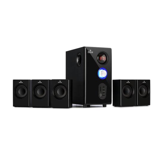 Concept 520 5.1 Speaker System 75 W RMS OneSide Subwoofer BT USB SD