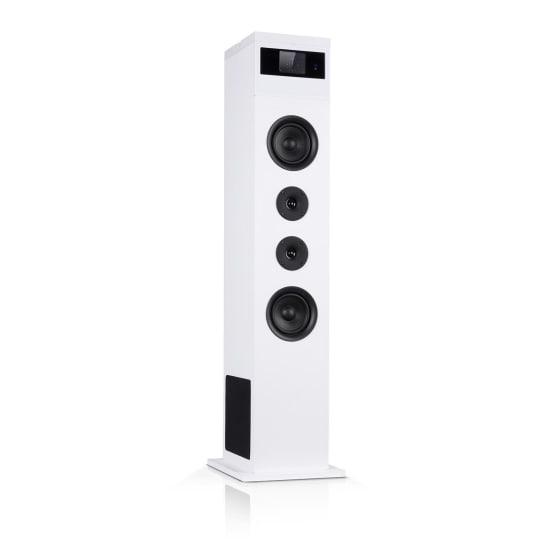 Karaboom 100 Speaker 120W max. BT / USB / MP3 / FM / AUX-in Tablet Holder White