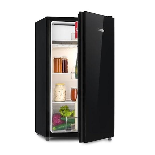 Luminance Frost, chladnička, 91 l, A+, chladicí prostor na zeleninu, 2 skleněné police, černá