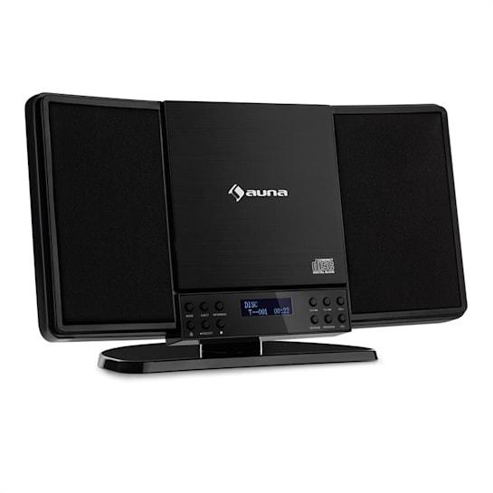V14-DAB Imianto Stereo Verticale CD FM e DAB+ BT nero