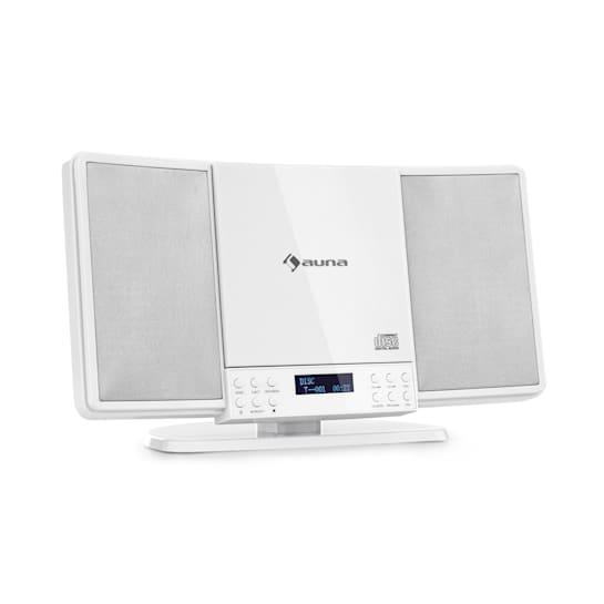 V14-DAB, Pionowy system stereo, V14-DAB, CD, FM i DAB + Tuner, BT, Biały