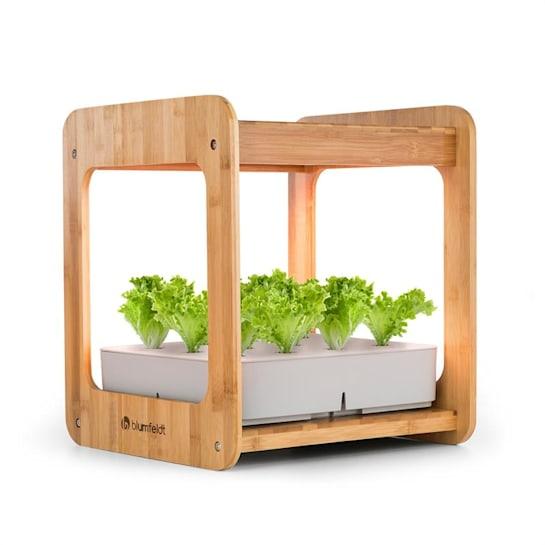 Urban Bamboo, hydroponický rastlinný systém, 12 rastlín, 24 W LED, 7 litrov, bambus