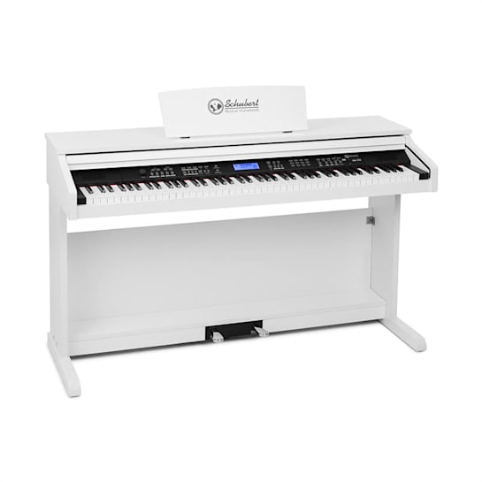 Subi 88 MK II Keyboard 88 Keys MIDI USB 360 Sounds 160 Rhythms White