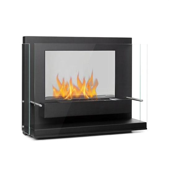 Phantasma Vidro Ethanol-Kamin rauchfrei Edelstahl-Brenner 2h Stahl schwarz