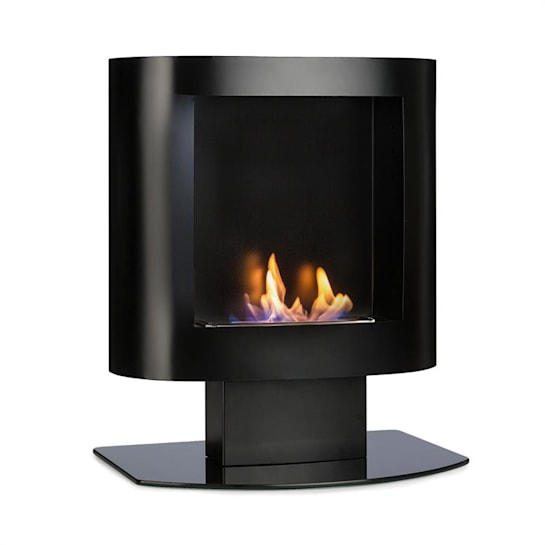 Phantasma Tower Ethanol Fireplace Safety Burner Extinguishing Aid Black