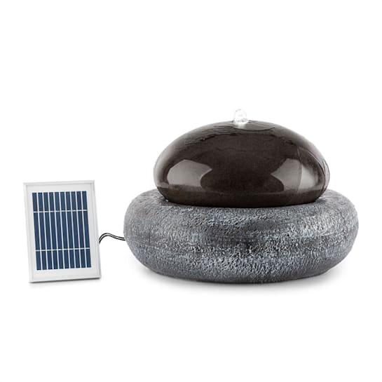 Ocean Planet fontana solare 200l/h pannello solare batteria da 2W LED in poliresina