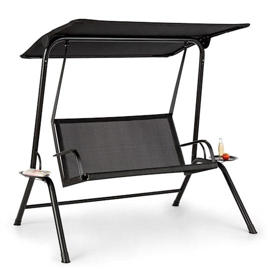 Bel Air Mono Swing dondolo Hollywood telaio d'acciaio Mono Relax nero