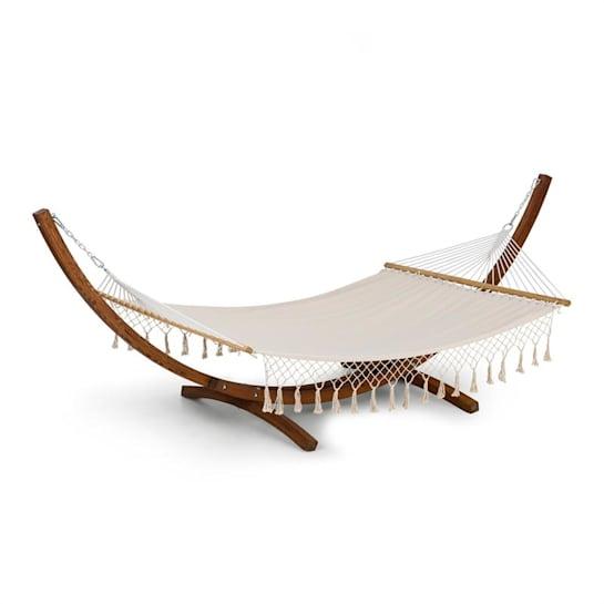 Bali TAS Swing Hängematte Lärche160 kg max. creme Quasten