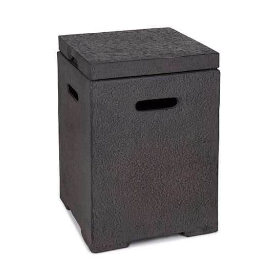 Gas Garage, box na uskladnění nádoby s plynem do 9 kg, tmavě šedý