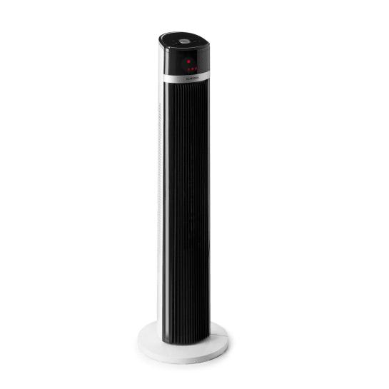 IceTower ventilatore a piantana 3 modalità timer telecomando bianco