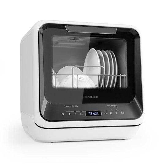 Amazonia Mini Geschirrspülmaschine 6 Programme LED-Display schwarz
