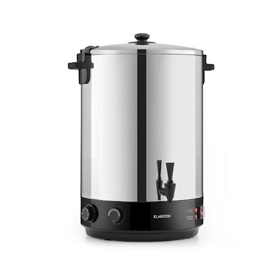 KonfiStar 40 Pastorizzatore Distributore Bevande 40L 110°C 120min Inox