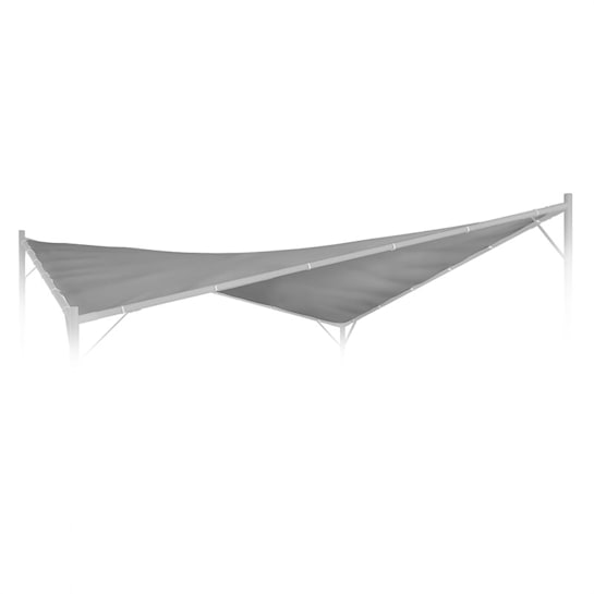Sombra Pergola Replacement Roof 180 g / cm² Polyester Accessories Grey