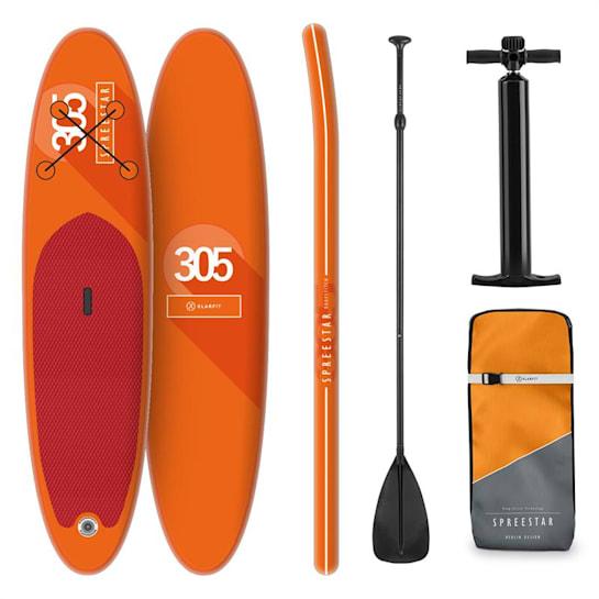 Spreestar aufblasbares Paddelboard SUP-Board-Set 305x10x77 orange