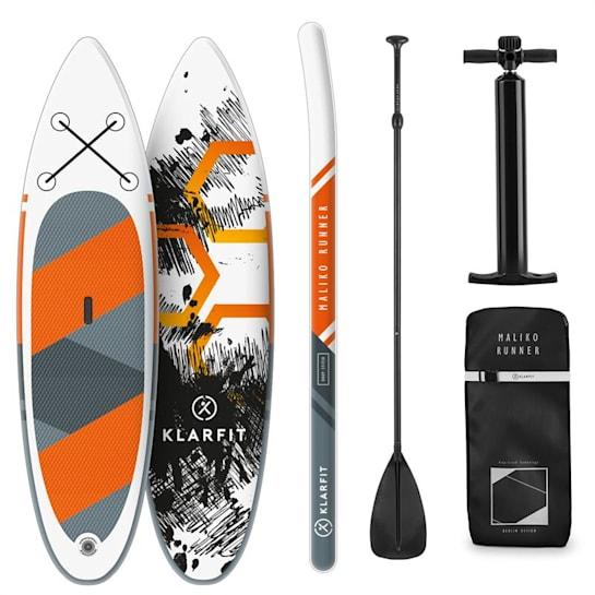Maliko Runner aufblasbares Paddelboard SUP-Board-Set 305x10x77 orange