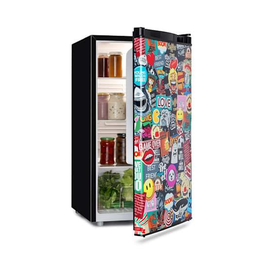 Cool Vibe, hladnjak, A+, 90 l, VividArt Concept, stil manga, crna boja