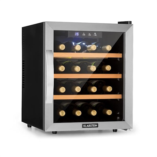 Reserva 16 Weinkühlschrank 16Fl/48l Touch LED-Display schwarz