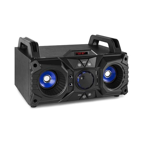 MDJ95 Party Station Bluetooth USB/SD/AUX Batteria nero