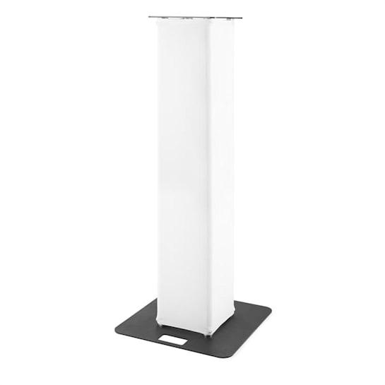 P30 Truss Tower, visina: 1,5m, baza: 60x60cm, stalak za rasvjetu: 35x35cm, bijeli