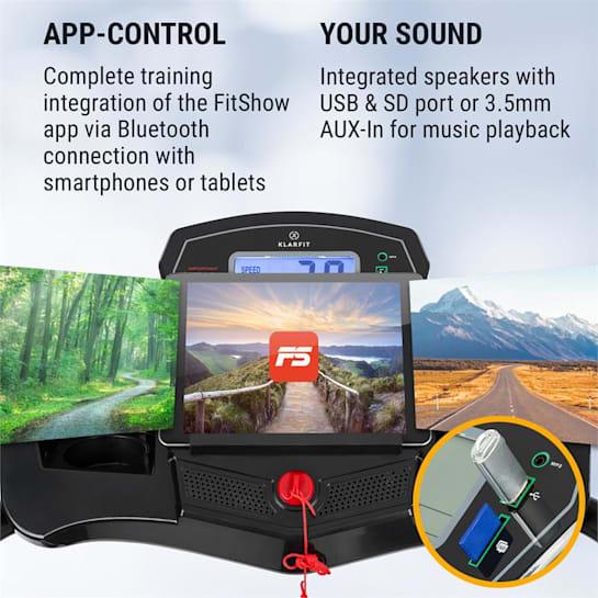 Pacemaker F100, traka za trčanje, 2,0 HP, samopodmazujuć sustav, 3-Level InclineSystem