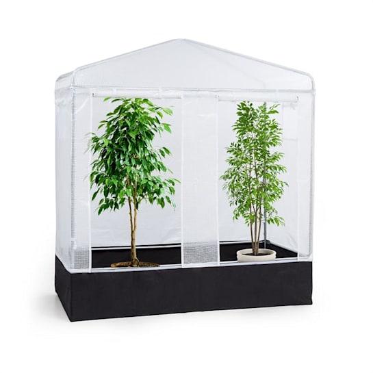 Plant Palace X2 Gewächszelt 200x220x100cm Stahlrohr Ø25mm PVC-Gitterfolie
