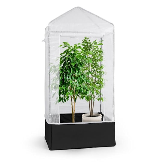 Plant Palace X1 Growing Tent Greenhouse 100x220x100cm Steel Pipe PVC Mesh Film