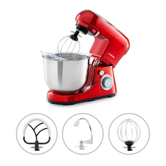 Bella Pico 2G Food Processor 1200W 1.6PS 6 Levels 5 Litres Red